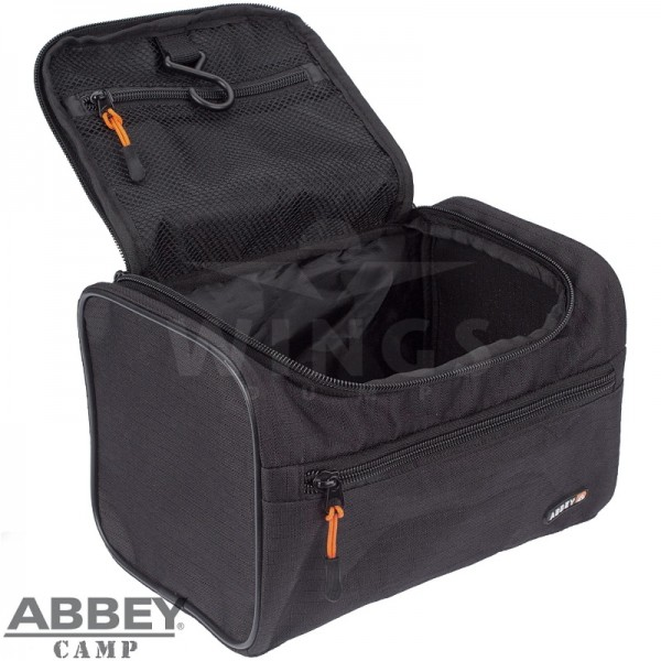 Toilettas Abbey boxmodel zwart