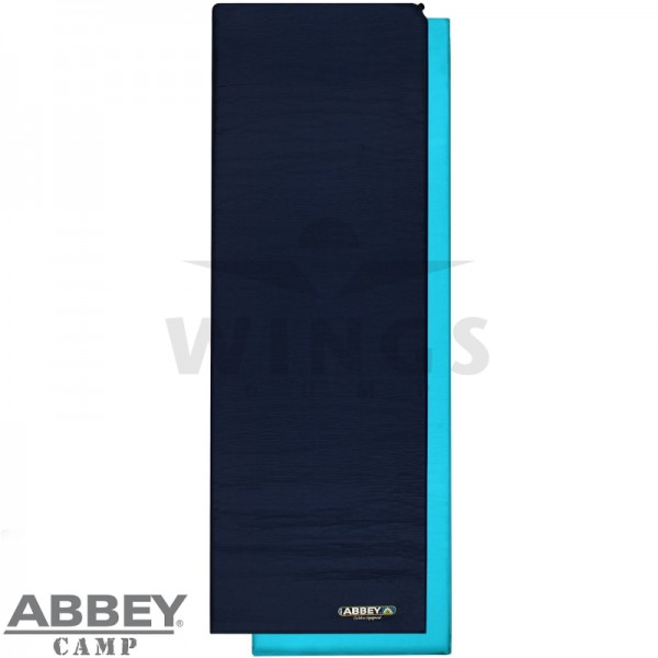 Selfinflating matras 10 cm blauw