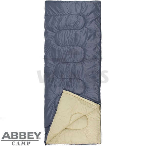 Abbey Camp slaapzak 210x85 cm grijs