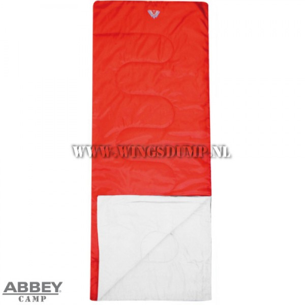 Abbey Camp Summer slaapzak rood