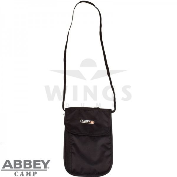 Travelwallet Abbey zwart