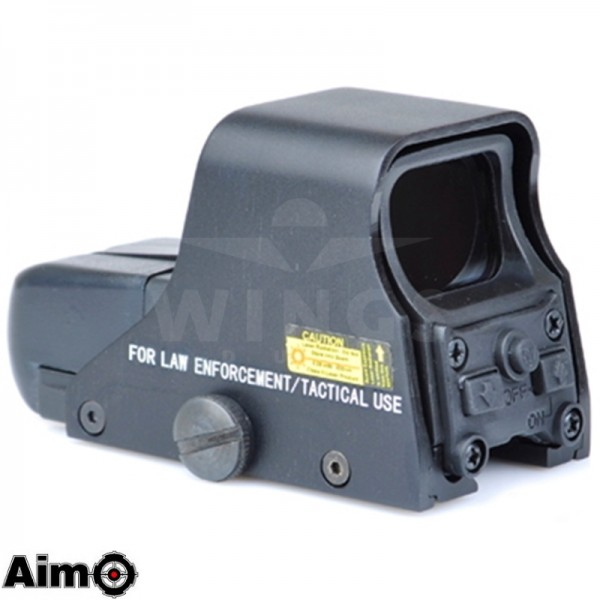 Holographic sight 551 met red en green dot zwart