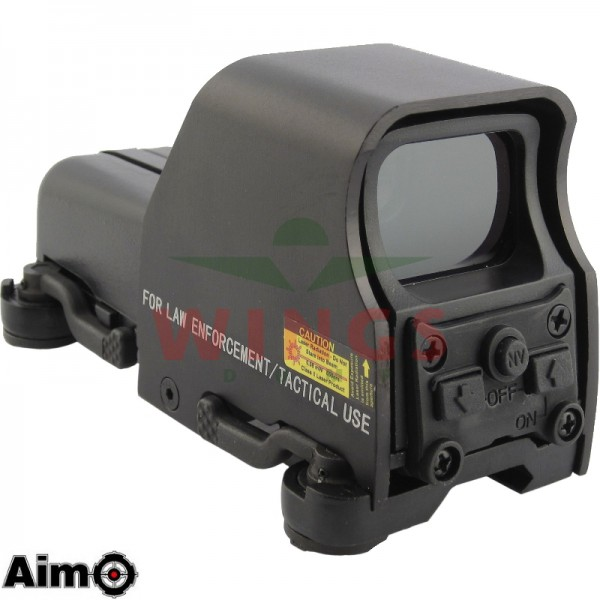 Holographic sight 553 met red en green dot qd