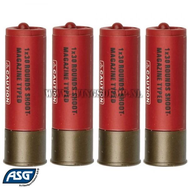 ASG Franchi shells 1x30 4 stuks