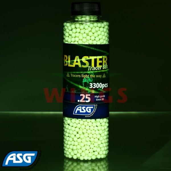 ASG Blaster tracer bb's 0,25 gram 3300 stuks.