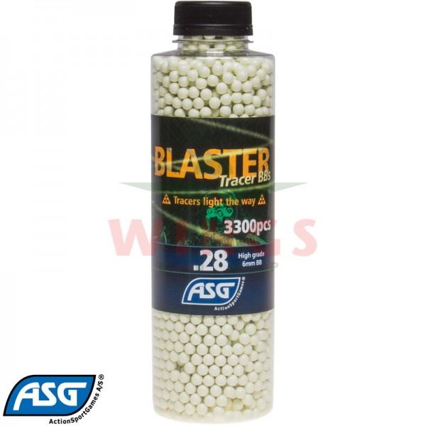 ASG Blaster tracer bb's 0,28 gram 3300 stuks.