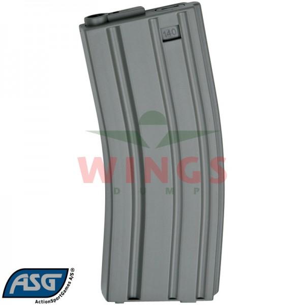 ASG M4/M16 mid-cap magazijn 140 rounds