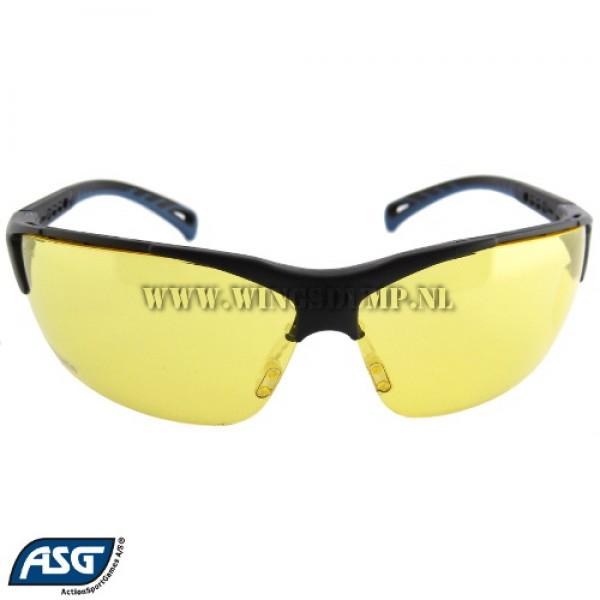 ASG beschermbril geel