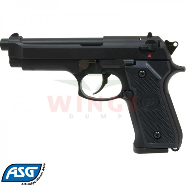 ASG M92F gas zwart