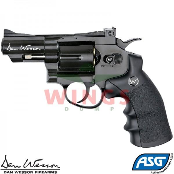 Dan Wesson 2,5 inch revolver zwart