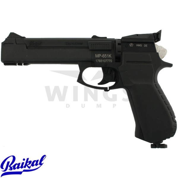 Baikal MP-651K co2 pistool
