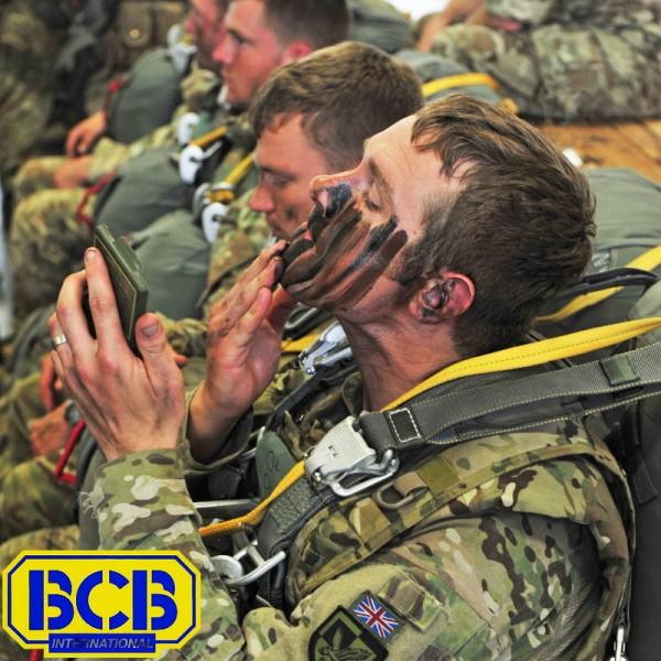 BCB camouflagecreme woodland in boxje