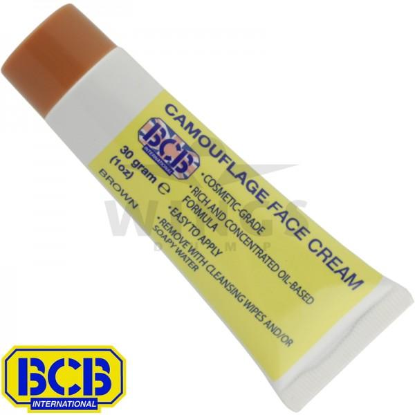 BCB camouflage face cream tube bruin