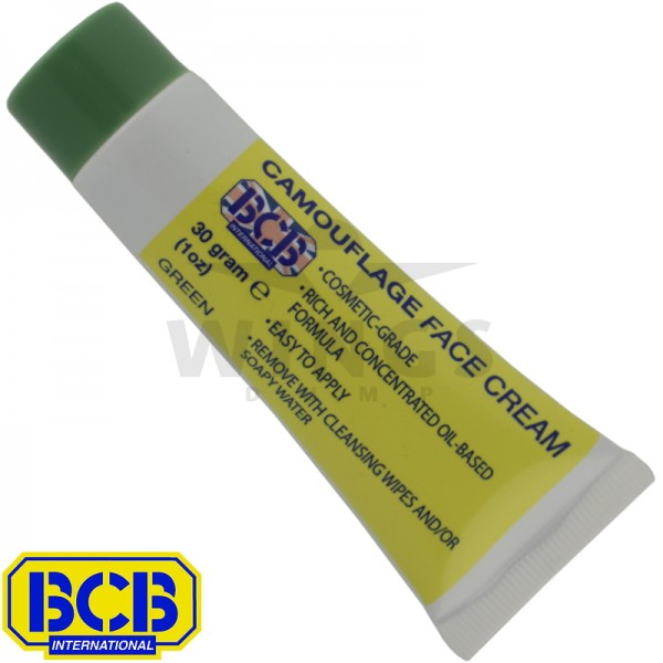 BCB camouflage face cream tube groen