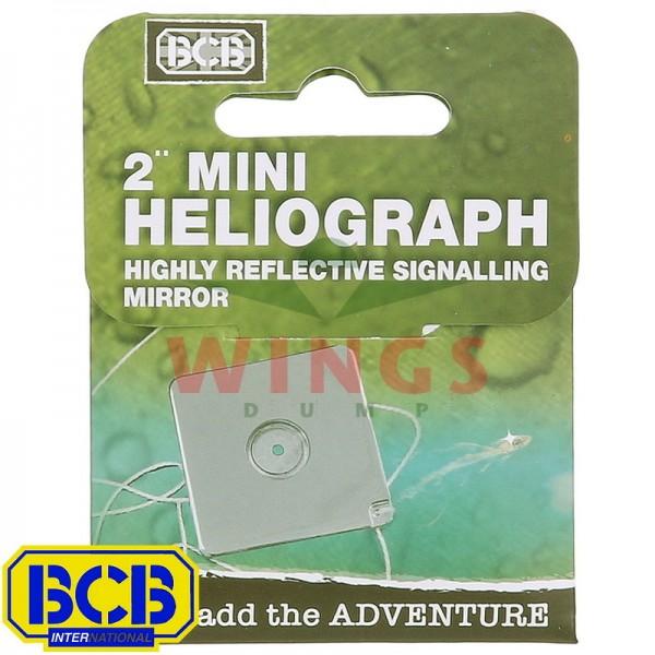Seinspiegel BCB 5x5 cm. heliograph