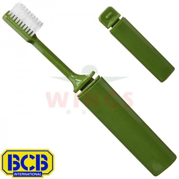 Tandenborstel BCB opvouwbaar groen