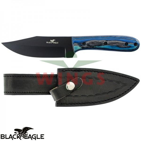 Black Eagle bushcraftmes blue pakkawood
