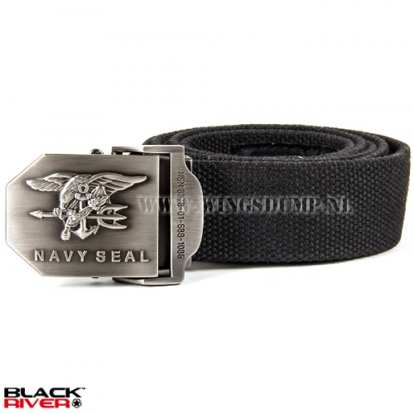 Black River belt Navy Seal zwart