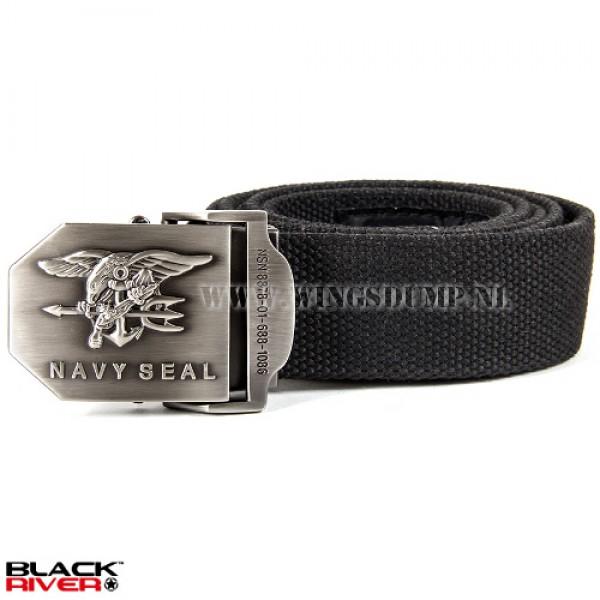 Black River belt Navy Seal zwart