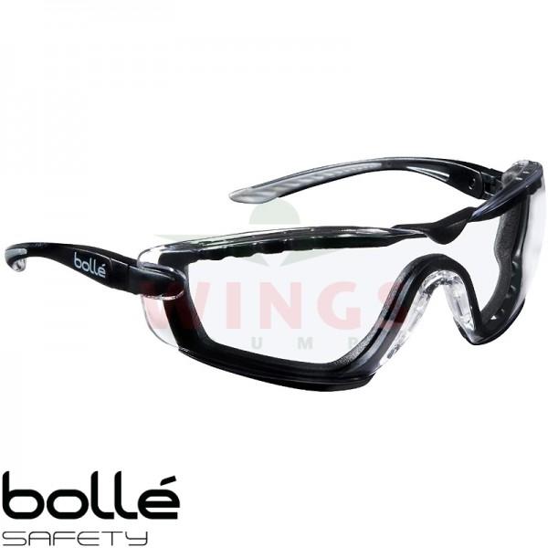 Bollé Cobra bril met clear glasses