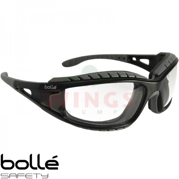 Bollé Tracker bril met clear glasses
