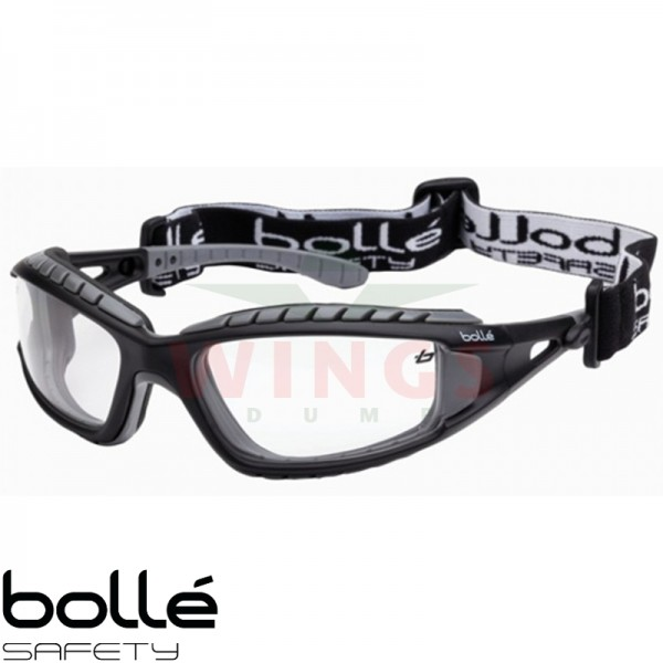 Bollé Tracker bril met clear glasses