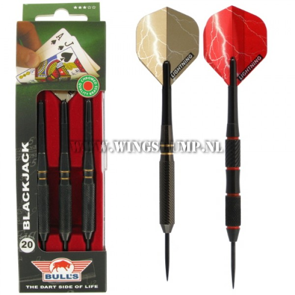 Bull's Black Jack darts