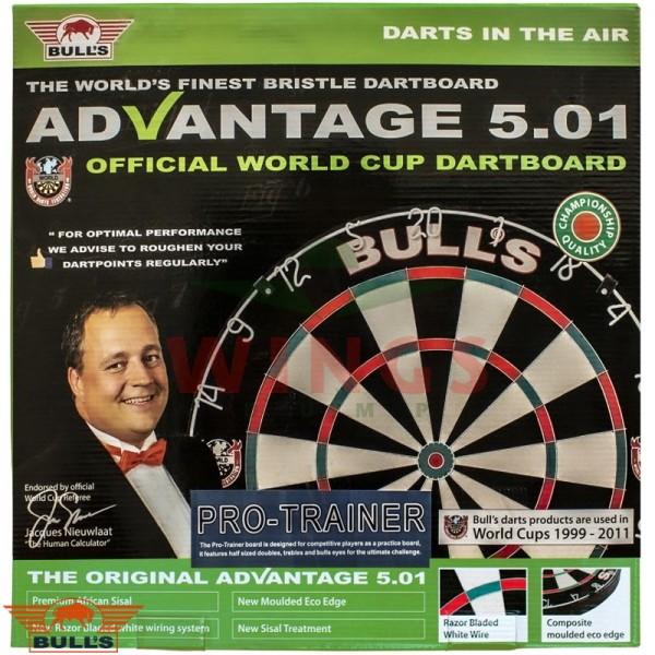 Bull's Advantage Trainer dartbord