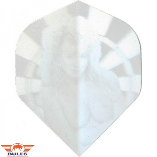 Flights Hologram pin-up zilver