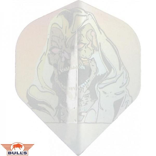 Flights Hologram skull zilver