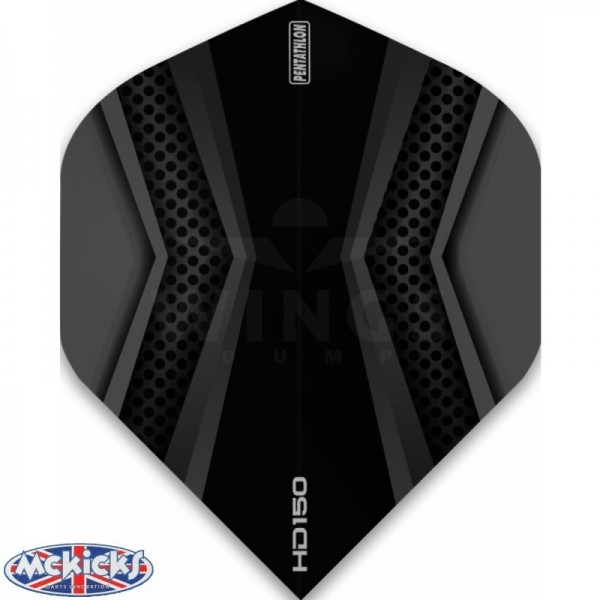 Flights pentathlon HD150 black-grey