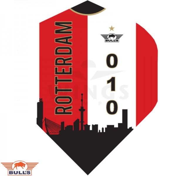 Flights power 010 Skyline Rotterdam rood