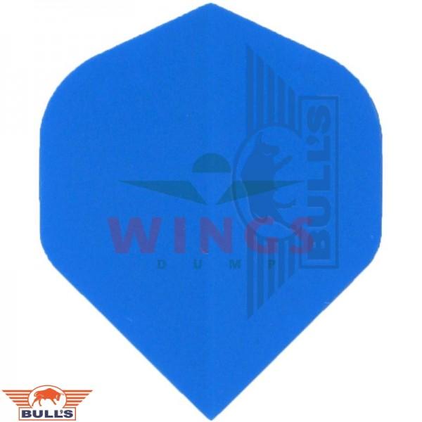 Flights polyna effen blauw