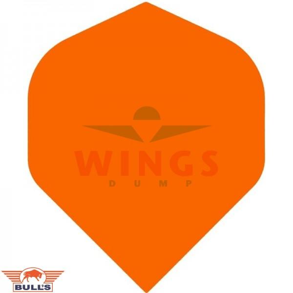 Flights polyna effen oranje
