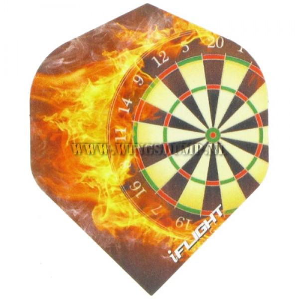 Flights iFlight dartboard on fire