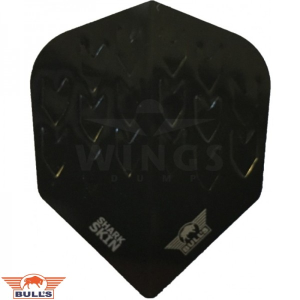 Flights Bull's shark skin solid black