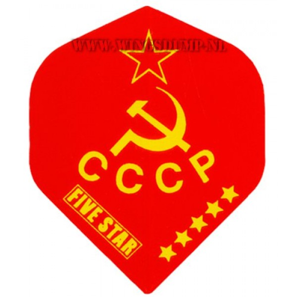 Flights five star cccp rood geel