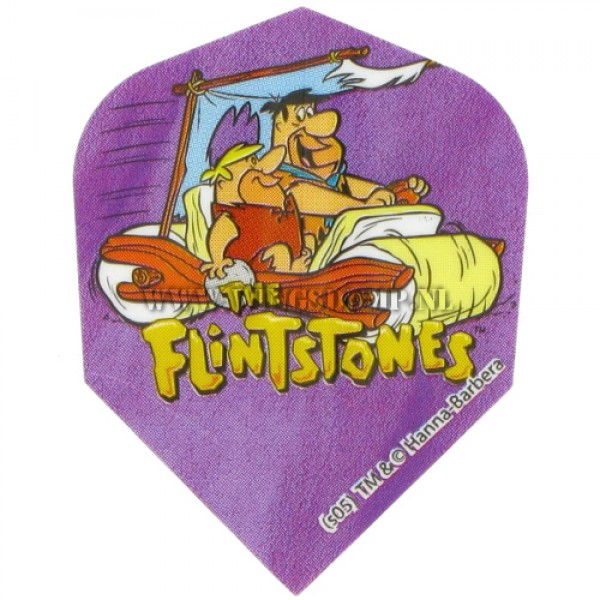Flights Flintstone car cartoon