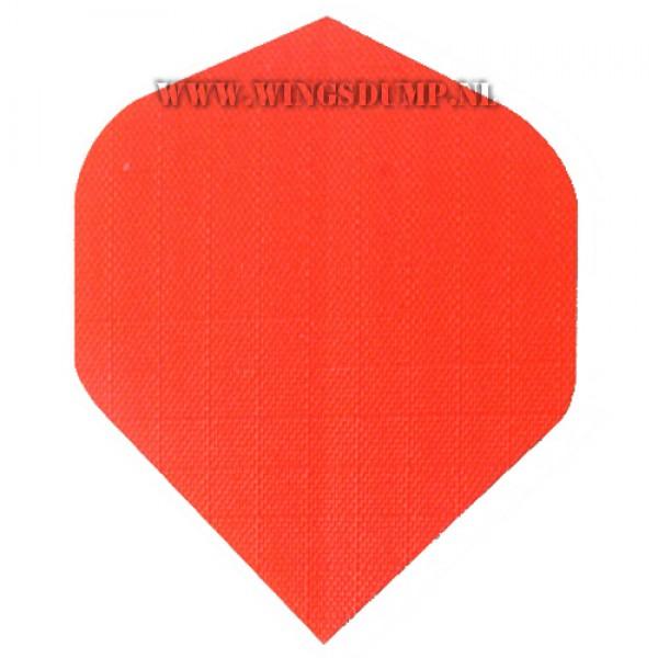 Flights linnen effen oranje