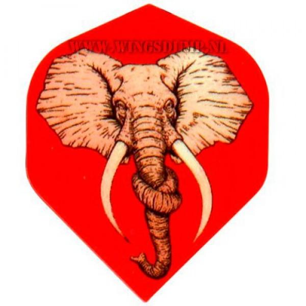 Flights motex olifant rood