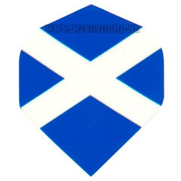 Flights motex schotland blauw wit