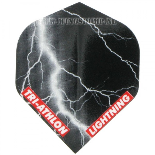 Flights triathlon lightning zwart