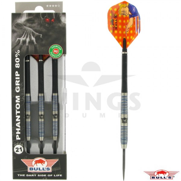 Bull's Phantom Grip darts