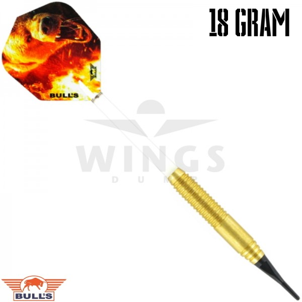 Bull's Bear softtip brass darts 18 gram