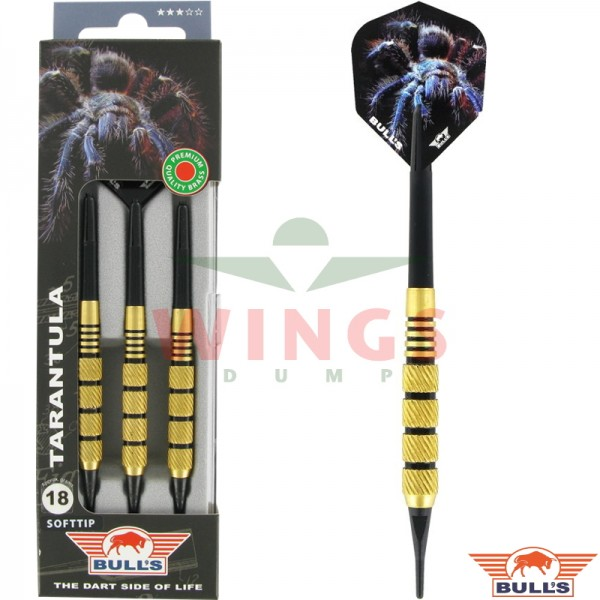 Bull's Tarantula softtip brass darts 18 gram