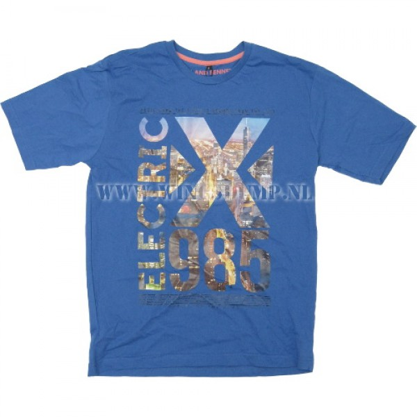 T-Shirt Electric X 985 blue