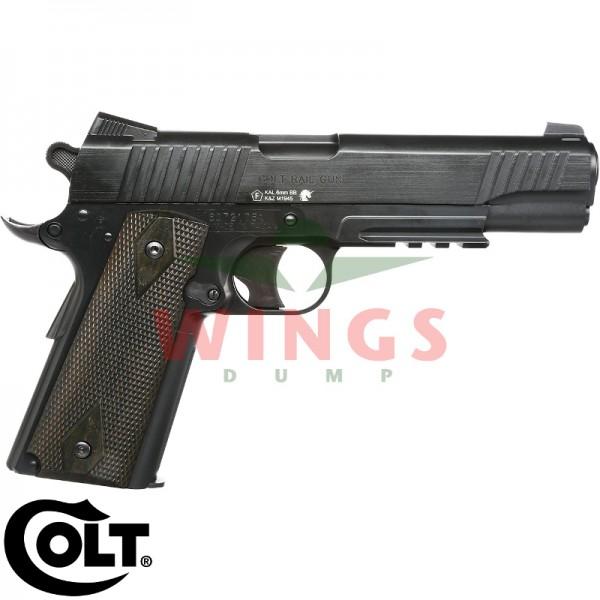 Colt 1911 Railgun co2 non blowback