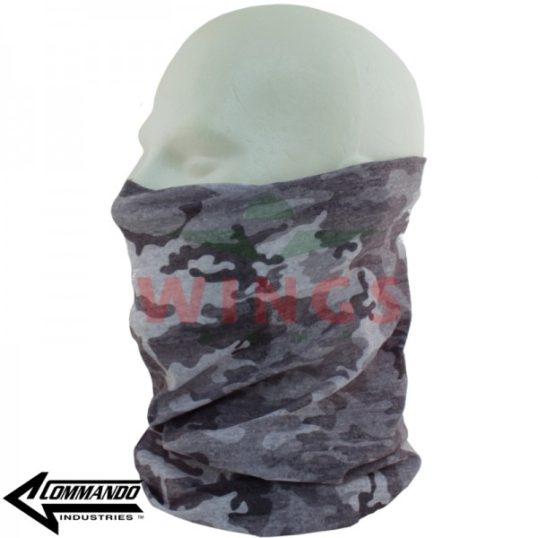 Commando military Buff grey camo allover