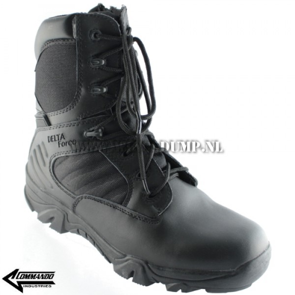 Commando Tactical Delta Force boots zwart