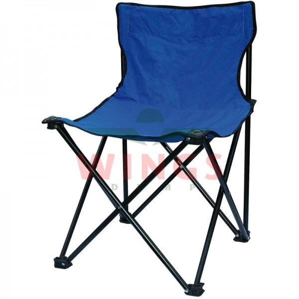 Quad chair opvouwbare stoel blauw